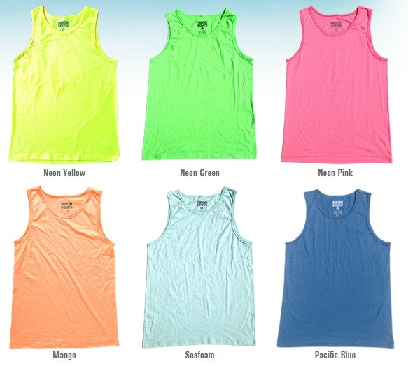 The Neon South Tank Tops