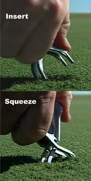 How to Use Divot Repair Tool